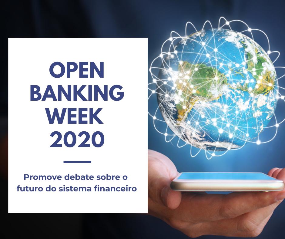 Open Banking Week 2020 promove debate sobre o futuro do sistema financeiro